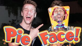 PIE FACE CHALLENGE Sibling Tag Competion + iPhone 6S GIVEAWAY | Collins Key