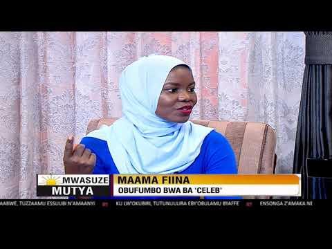 Mwasuze Mutya: Maama Fiina ku nsonga lwaki obufumbo bwaba celeb bulema