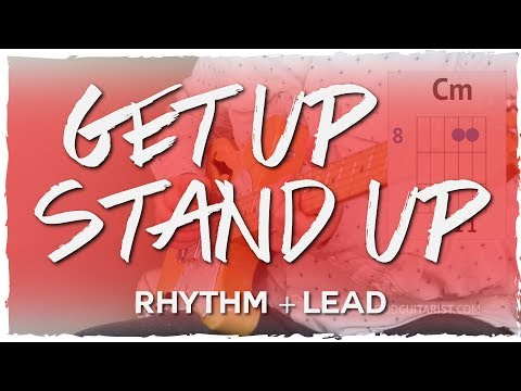 """""""Get Up, Stand Up"""" Guitar Tutorial - Bob Marley 