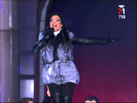 Ани Лорак - Shady Lady (С Украиной в сердце Киев 31.12.09)