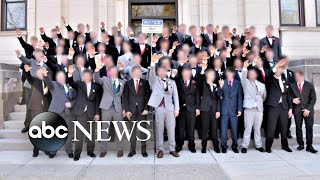 Uproar after photo shows students appearing to give Nazi salute