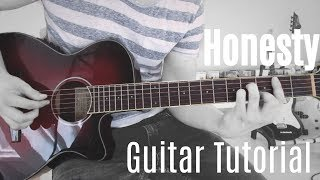 Honesty - Pink Sweat$ - Guitar Tutorial (Lesson) - Easy How To Play