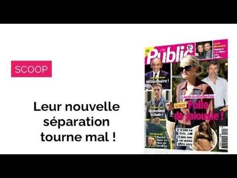 Magazine Public – La nouvelle séparation de Laeticia et Jalil tourne mal