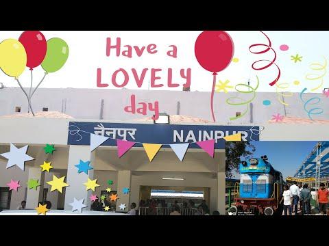 Nainpur Railway Station | Inaugaration celebrate's | By Nainpur news