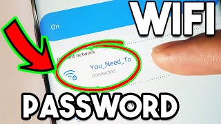 How To See WiFi Password On Android Phone Without Root 2021