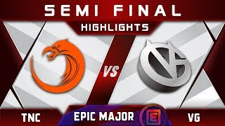 TNC vs VG Semi Final EPICENTER Major 2019 Highlights Dota 2