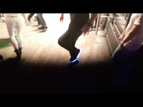 Prater in Bochum / Melbourne Shuffle / LED Sneaker / Leucht Schuhe / STAR WARS IMPERIAL THEME