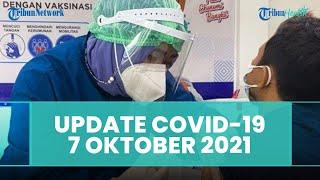 Update Covid-19 Indonesia 7 Oktober 2021: Kasus Positif Bertambah 1.393, 1.946 Sembuh, 81 Meninggal