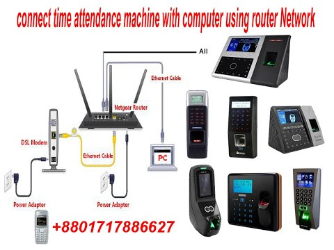 Zkteco Time Attendance Software Setup and Configuration Full