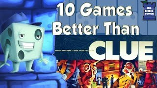 10 Games Better Than Clue - with Tom Vasel