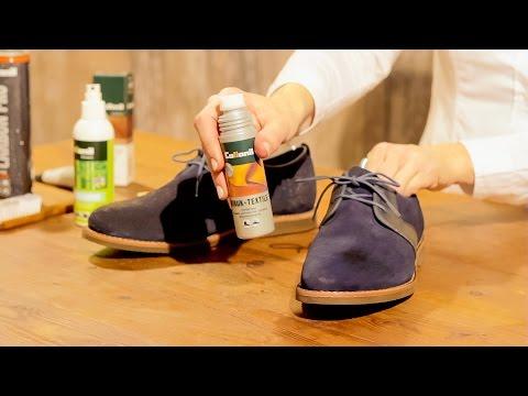 Wie putzt man Schuhe aus Wildleder und Glattleder ? | Materialmix Rauleder Glattleder reinigen