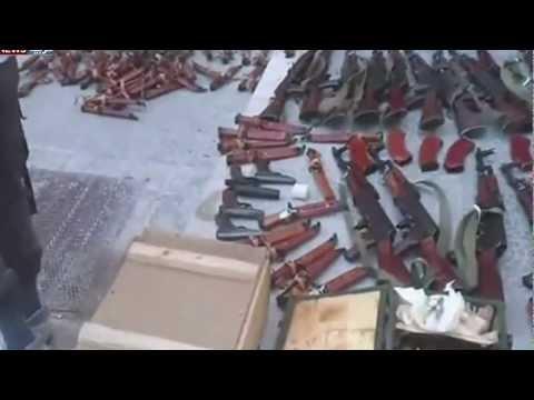 الجيش الحر يستولي على أسلحة للجيش النظامي بحلب