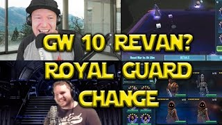 Star Wars: Galaxy Of Heroes - GW#10 Royal Guard Animation Revan? Discussion