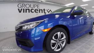 Honda Civic Berline LX 2017 youtube video