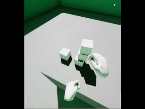 VR pickup and drop