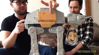 Star Wars Unboxing Video Rogue One Rapid Fire Imperial AT-ACT
