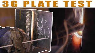 """3/8"""" Plate Test 3G   Stick Welding"""