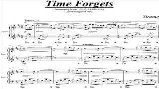 Yiruma - Time Forgets (piano score)