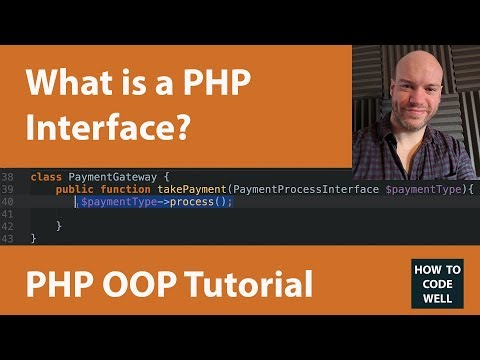 PHP OOP Tutorial | What is a PHP interface