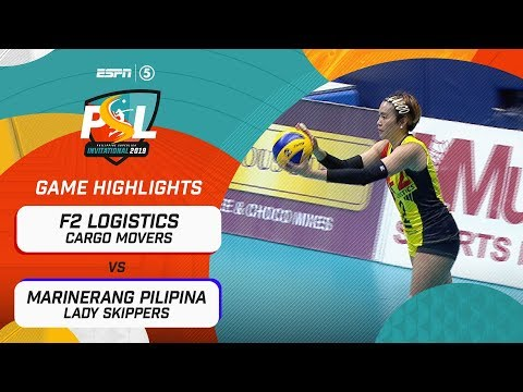 [Sport5]  Highlights: F2 Logistics vs. Marinerang Pilipina | PSL Invitational Conference 2019