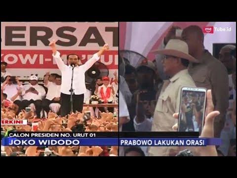 Jokowi Kampanye di Solo Didampingi Para Tokoh | Prabowo Kampanye di Palembang - iNews Sore 09/04