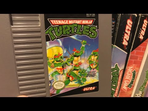 TMNT (NES) No Donatello, No Scrolls - Mike Matei Live