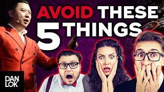 Don't Do These 5 Things With Your Money