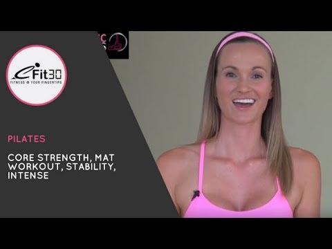 eFit30 - 30λεπτο δυναμικό πρόγραμμα Pilates για ενδυνάμωση του κορμού