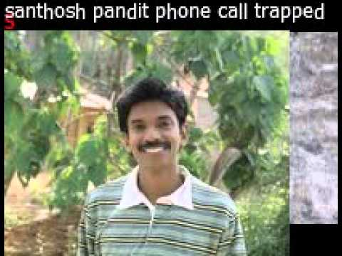 santhosh pandit new phone call trapped