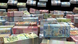 BILLIONS of GHANAIAN CEDI :: Wealth Visualization, Manifestation, Abundance HD