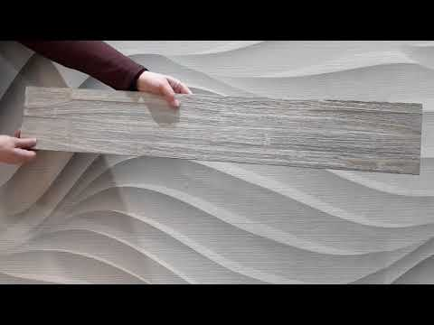 Product detailing video showing the driftwood wood wall panel from all angles