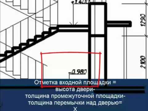 [Инженерная графика] Как вычертить лестницу в разрезе.mp4