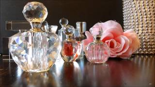 MUST HAVE Item For Vanity Tray - Crystal Perfume Bottles