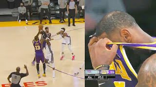 LeBron James Tries To Bring Stephen Curry To Lakers With This Game Winner But Chokes!