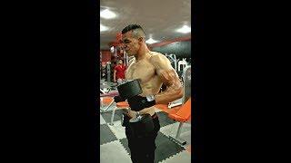 Hicham Mallouli Gym Motivation Training 2015 هشام ملولي حصة تحفيزية بالنادي