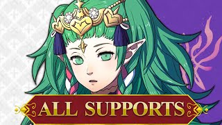 ALL Sothis Supports - Fire Emblem Three Houses