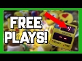 WINNING BIG WITH FREE PLAYS FROM A CLAW MACHINE! (E-CLAW)