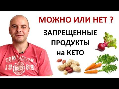 Кето диета   Запрещенные продукты   Что нельзя есть