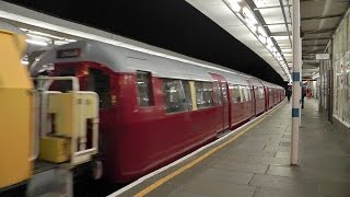preview picture of video 'Cravens Tube Train Passes Leytonstone + More'