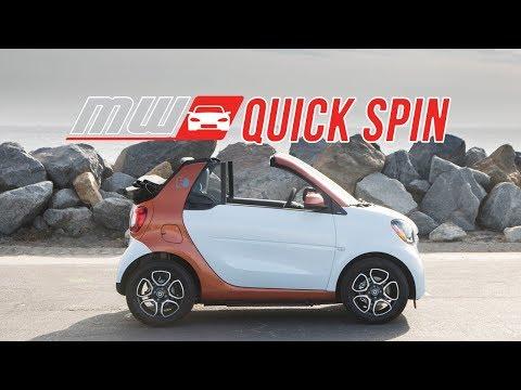 2018 smart fortwo cabrio electric drive | Quick Spin