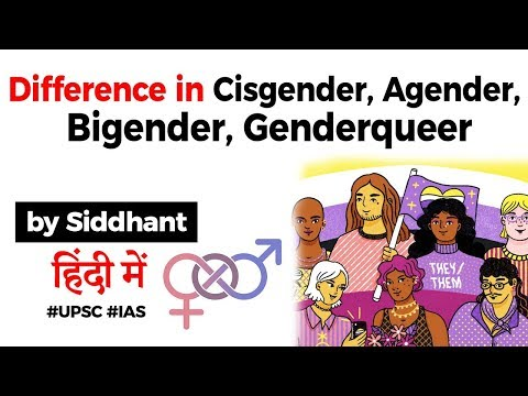 Difference in Cisgender, Agender, Bigender and Genderqueer explained, Why these terms matter? #UPSC