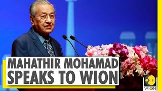 WION Global Leadership Series | Dr. Mahathir Mohamad speaks to WION | Former PM of Malaysia  IMAGES, GIF, ANIMATED GIF, WALLPAPER, STICKER FOR WHATSAPP & FACEBOOK