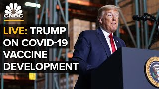 WATCH LIVE: President Trump delivers remarks on Covid-19 vaccine development - 5/15/2020