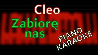 Cleo - Zabiorę Nas - piano KARAOKE by KAMILOGRAM
