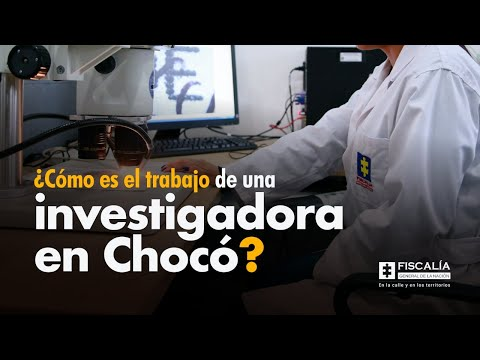 ¿Cómo es el trabajo de una investigadora en Chocó?