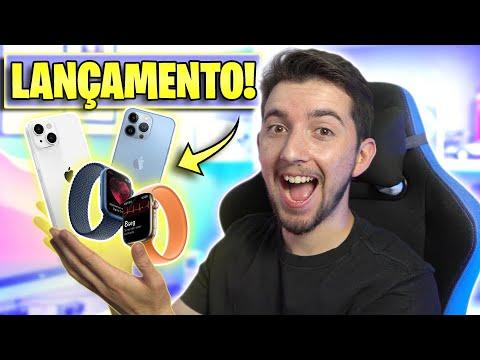 CONHEÇA O NOVO iPHONE 13, iPad 9 e APPLE WATCH SERIES 7! RESUMO EVENTO APPLE!