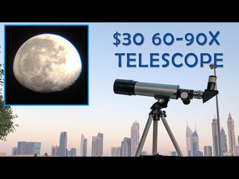 Cheapest 90X Telescope! Phoenix F36050 Review + Samples