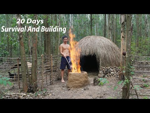 Dude Shows Us How to Survive 20 Days in Rain Forest