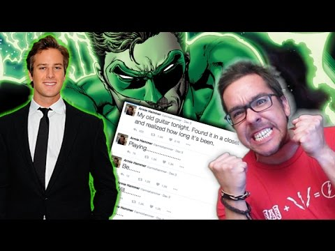 Is Armie Hammer Playing Green Lantern in the DCEU?