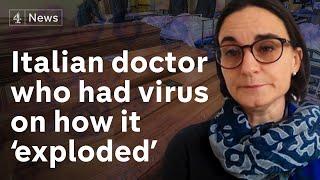 Italian doctor on how virus 'exploded', having coronavirus & how to fight it